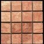 Antique Red Mosaic Colors